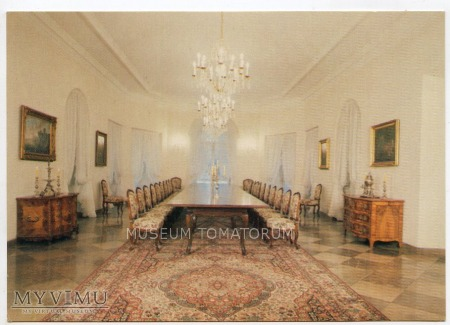 Otwock Wielki - Pałac wnętrze - 1979