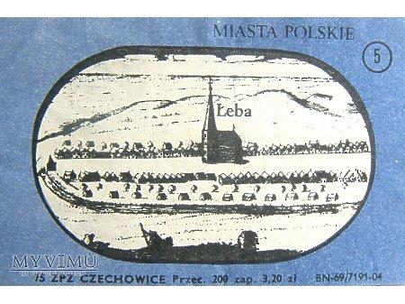 MIASTA POLSKIE - ŁEBA