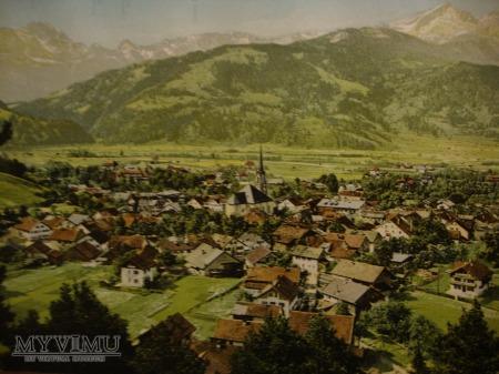 Garmisch-Partenkirchen pocztówka panoram. 36x14