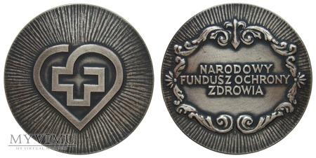 Narodowy Fundusz Ochrony Zdrowia medal