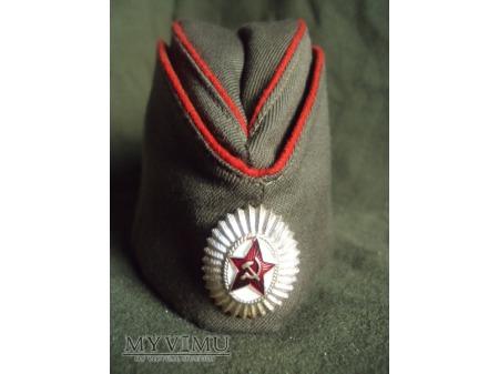 Furażerka oficera wojsk lądowych ZSRR