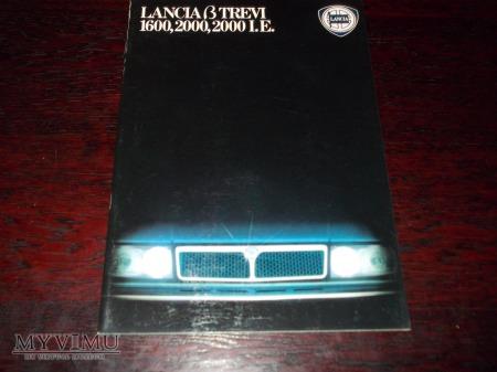 Prospekt LANCIA TREVI