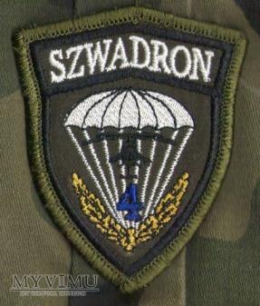 Emblemat 1 Pułk Szwoleżerów 25 BKPow-4 Szwadron