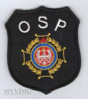 Emblemat OSP ze znakiem związku ZOSP RP