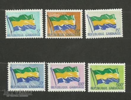 Le drapeau du Gabon III