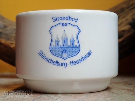 Filiżanka Strandbad Wunschelburg Heuscheuer