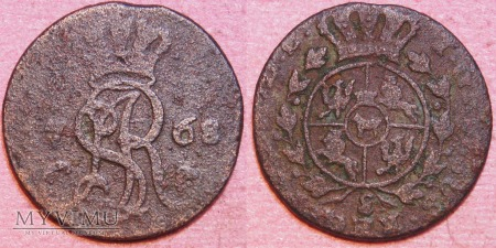 1768, Grosz koronny