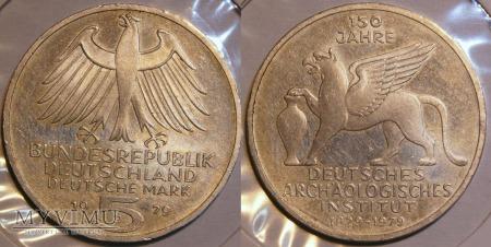 Niemcy, 1979, 5 DEUTSCHE MARK