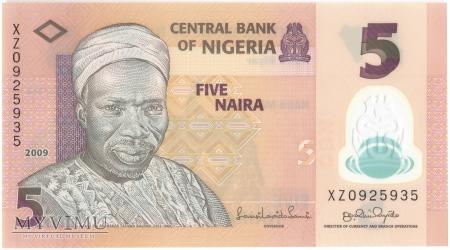 Nigeria - 5 naira (2009)