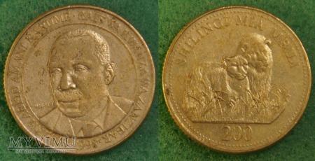Tanzania, 200 Shilingi 1998