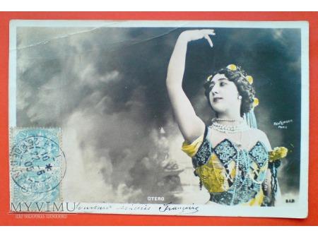 1905 Caroline OTERO ostatnia wielka kurtyzana