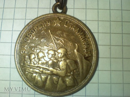 medal za obrone stalingradu