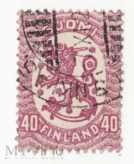 Finlandia 1917r - Godło Finlandii