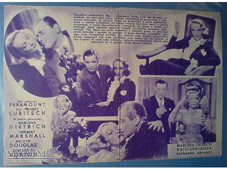 Duże zdjęcie Marlene Dietrich ESKAPADA (Angel 1937)