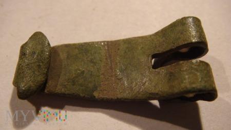 Zapięcie starej sakwy z ok XVIII wieku