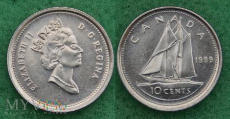Kanada, 10 CENTS 1999