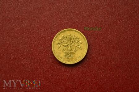 Moneta brytyjska: one pound 1984