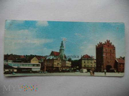 OLSZTYN Fragment miasta z prawej Wysoka Brama