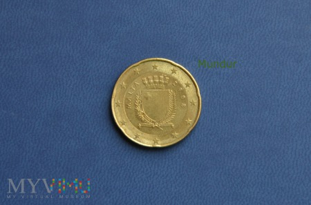 Moneta: 20 euro cent - Malta
