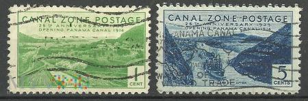 Opening Panama Canal