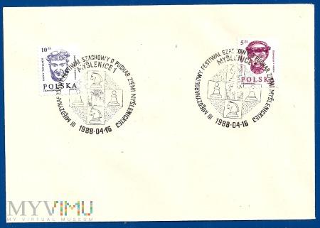 III Międzynarodowy Festiwal Szchowy.16.4.1988