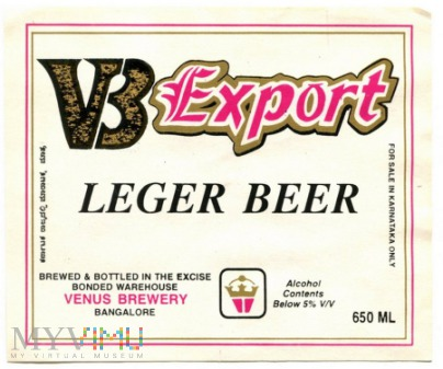 Bangalore, lager beer