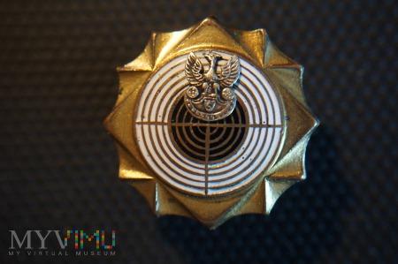 Odznaka Strzelecka - złota z emalią