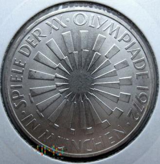 Duże zdjęcie 10 marek 1972 r. Niemcy