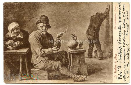 Trniers - Gospodarz (bauer) z fajką - 1903