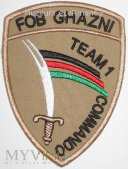 Afganistan. FOB GHAZNI