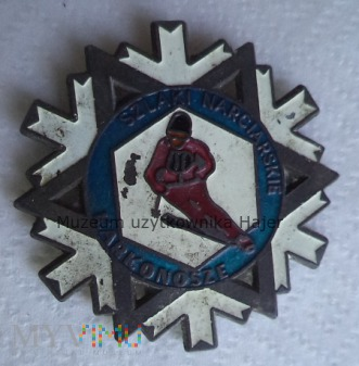 Karkonosze Szlaki Narciarskie - odznaka