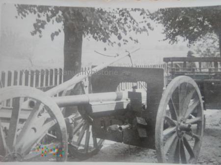 polska armata zdobyta przez Niemców