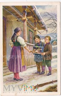 Wesołych Świąt - lata 50-te XX w.