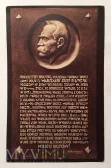 Józef Piłsudski, lata 20./30. XXw.