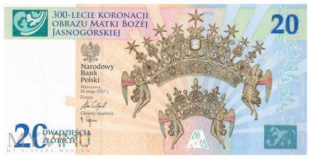 Duże zdjęcie Polska - 20 złotych (2017)