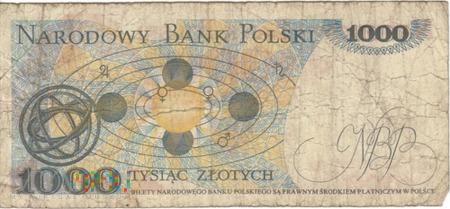 POLSKA PRL 1000 ZŁOTYCH 1982