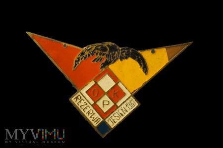 Pamiątkowa odznaka - Rezerwa OPK - Jesień 1987