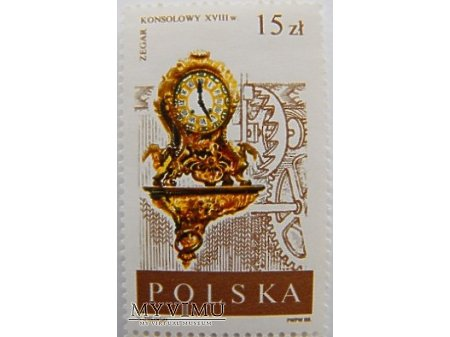 "POLSKA - seria ""Stare zegary"""