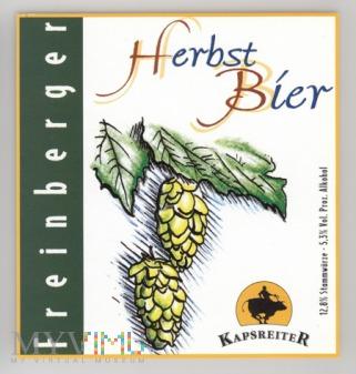 Kapsreiter Herbst Bier
