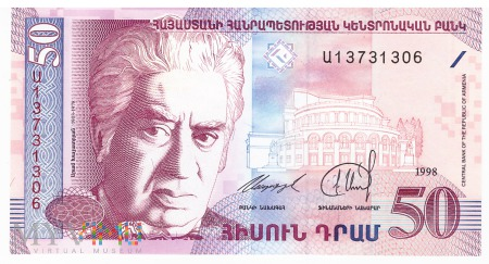 Armenia - 50 dramów (1998)