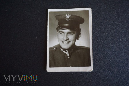 Na pamiątkę z wojska - siostrze - lata 50-te XX w.