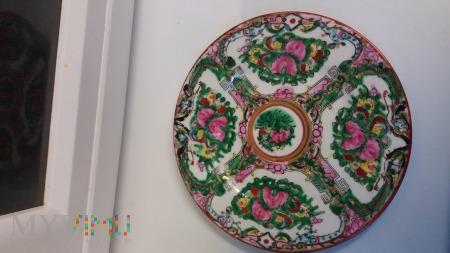 Duże zdjęcie talerz chiński
