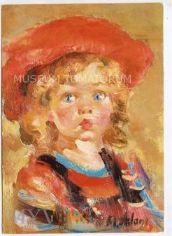 Adamczyk - Portret córeczki - 1984