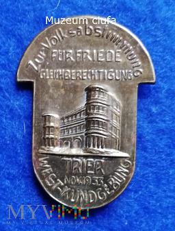Tagungsabzeichen-Trier November 1933