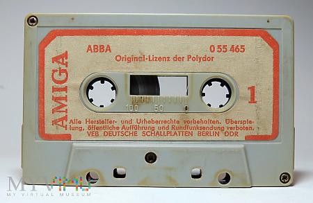 Amiga Abba kaseta magnetofonowa