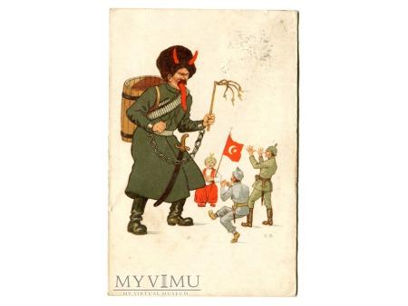 Kozak - Diabeł Wojsko tureckie, pruskie, carskie