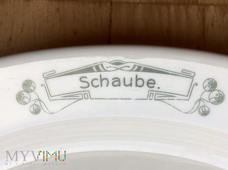Półmisek restauracja Schaube, Oswitz (Breslau)