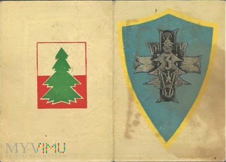Duże zdjęcie Legitymacja pułkowa 3 Dywizji Strzelców Karpackich