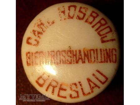 Carl Hosbroj Biergrosshaqndlung Breslau