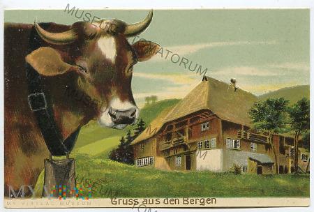 Pamiątka z Bergen - lata 20-te XX wieku